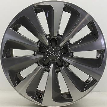 1 Original Audi A6 4 G C7 18 pulgadas 4 g0601025af 8 x 18 ET39 aluminio Llanta bicolor ef145: Amazon.es: Coche y moto