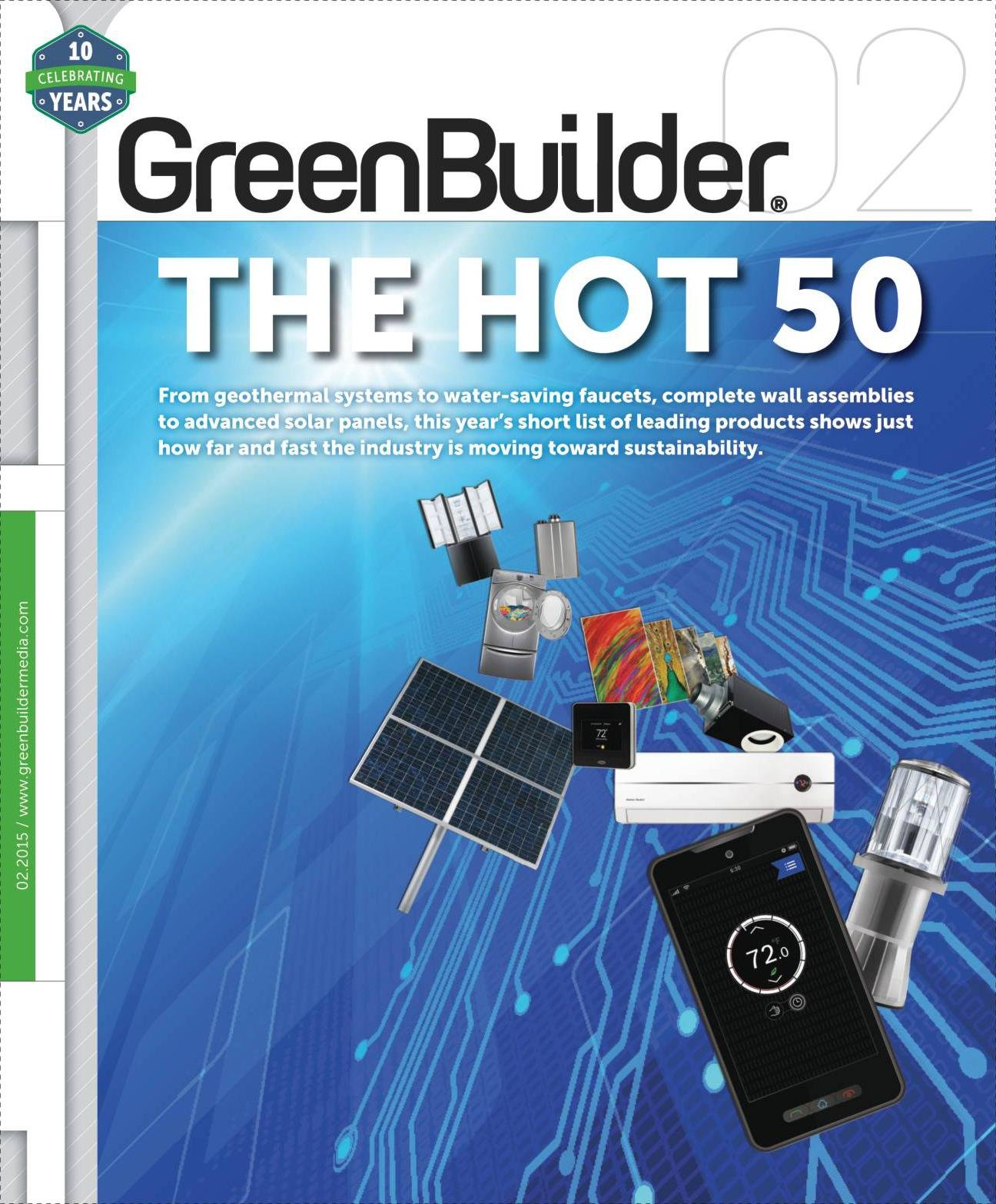 Green Builder Magazine - February 2015 PDF