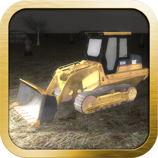 Zombies vs Bulldozer : Puppy Rescue 3D Racing Simulator -