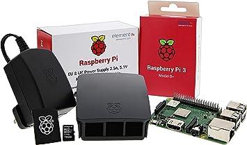 UCreate Raspberry Pi 3 Model B+ Desktop Starter Kit (16Gb) (Black): Amazon.es: Electrónica