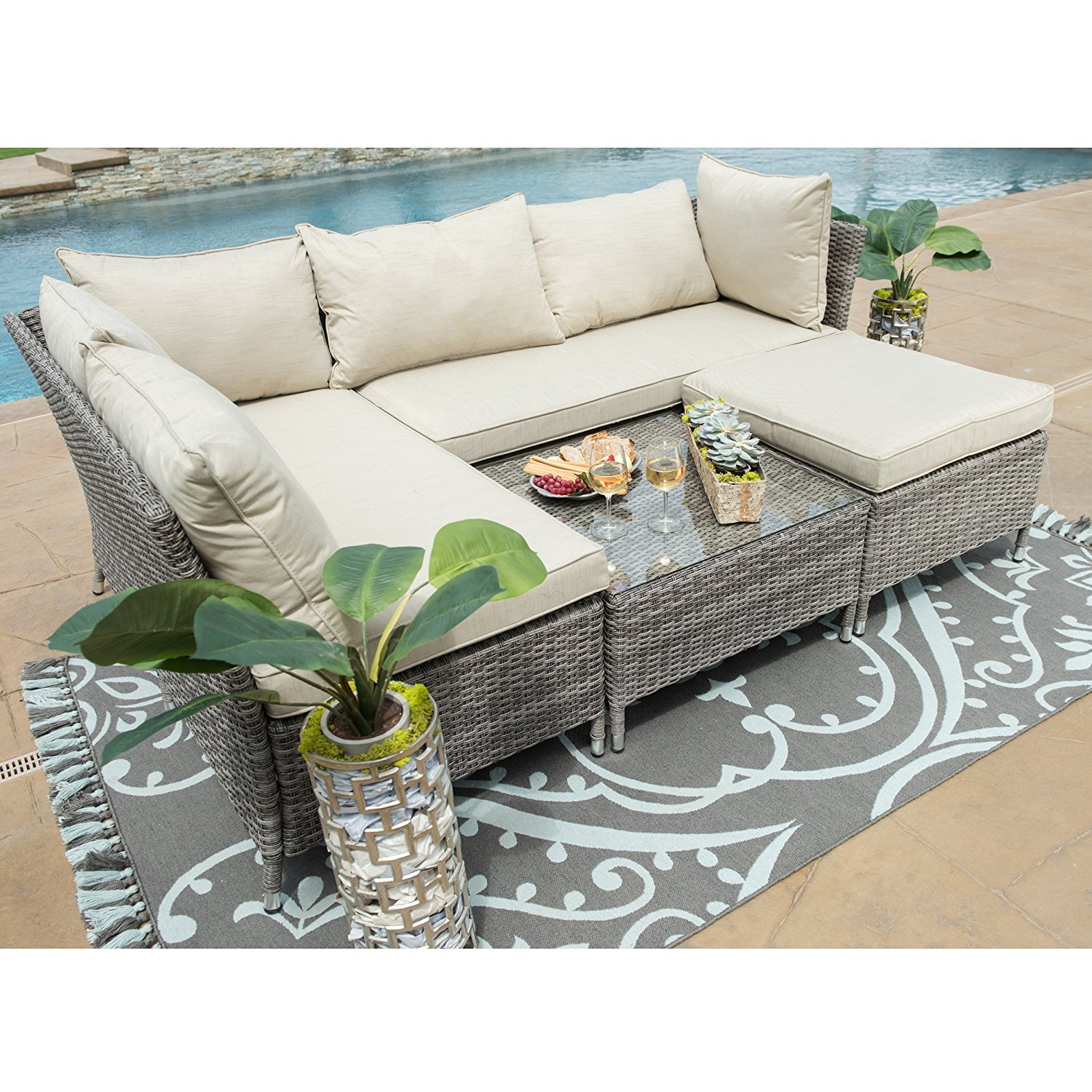 Amazon Starsong MS089 Corvus 4 Piece Outdoor Seating Group
