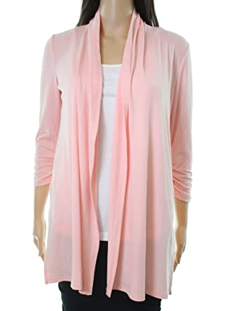 Context Sea Shell Peach Womens Small Cardigan Sweater Pink S At