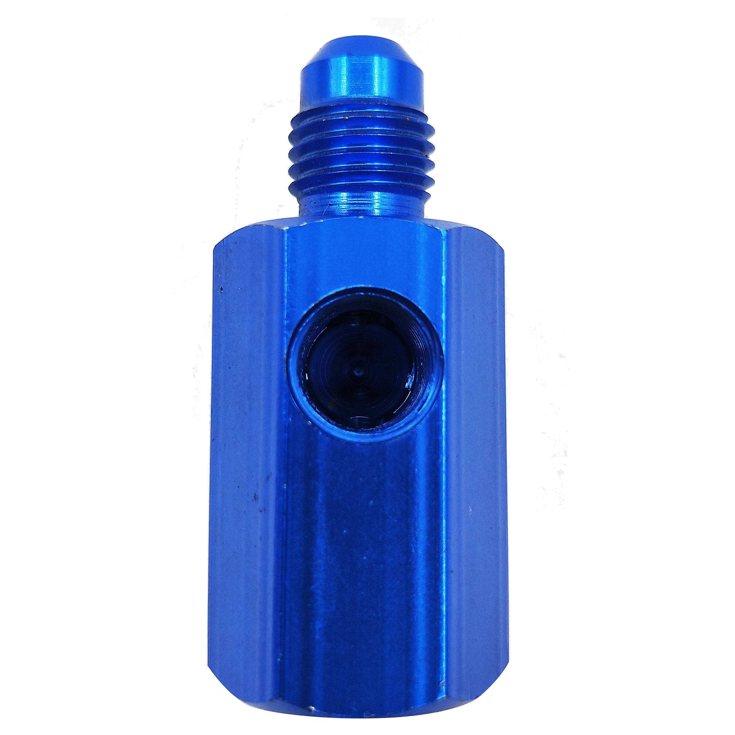 Dracarys Nitrous 4 AN Inline Adapter Work For NOS Or NX (Blue, 4AN)