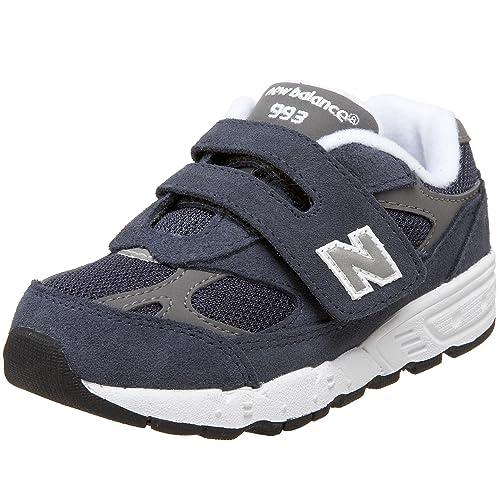 832a182cbd0cb NEW BALANCE KIDS 993 NAVY BLUE KV993NVI scarpe sneaker unisex bambino  camoscio e tela (EUR