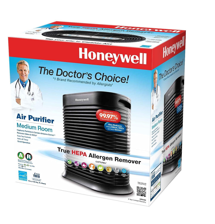Amazon com  Honeywell HPA100 True HEPA Allergen Remover  155 sq  ft   Home    Kitchen. Amazon com  Honeywell HPA100 True HEPA Allergen Remover  155 sq