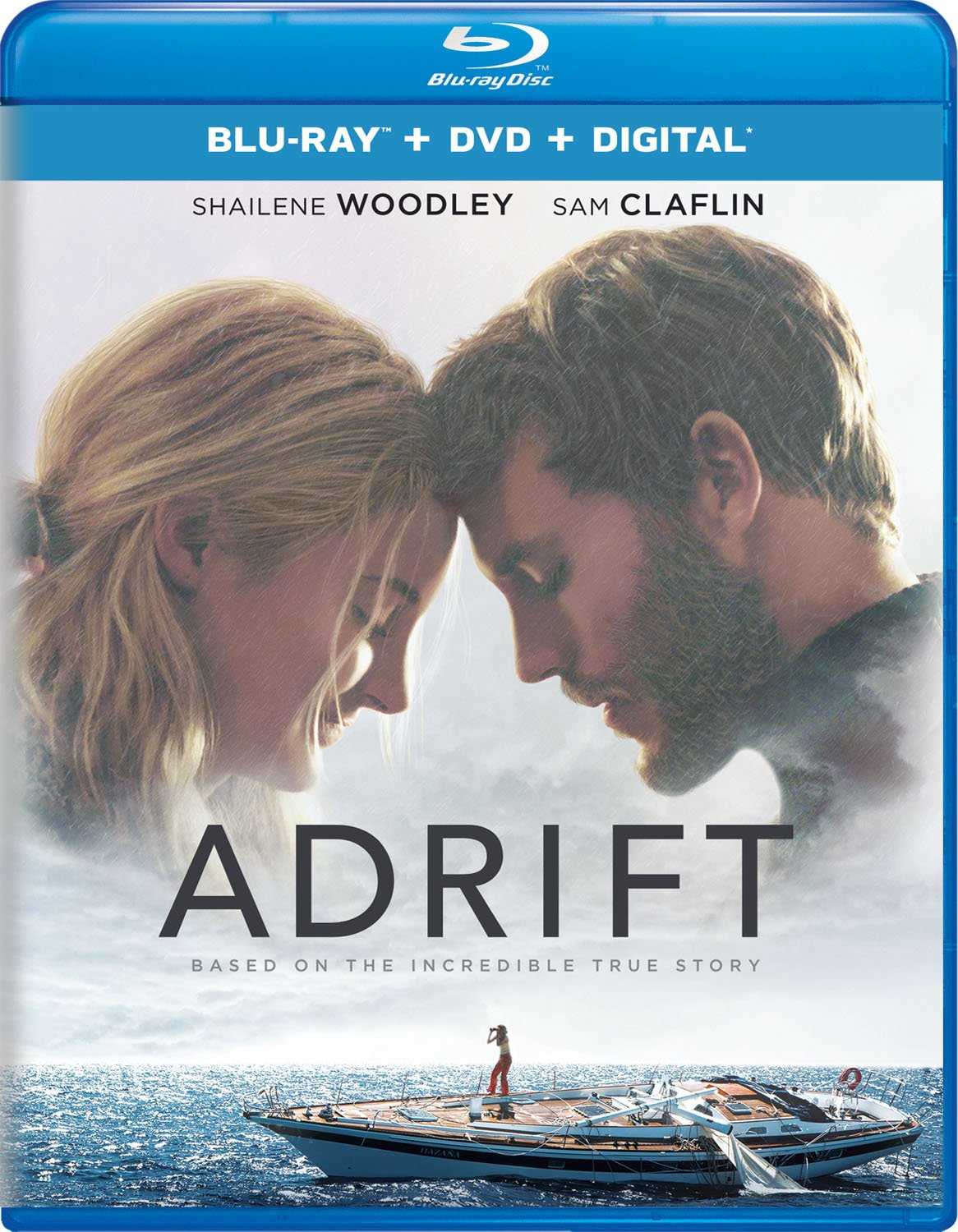 Blu-ray : Adrift (With DVD, 2 Pack, Digital Copy, 2PC)