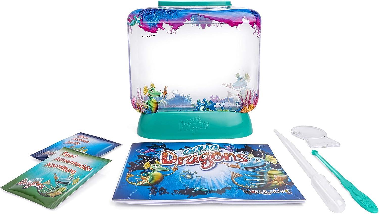 Aqua Dragons- Mundo Submarino Juguete Educativo, Multicolor (World Alive 4002)