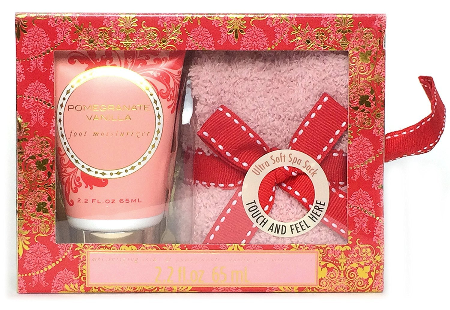 Cozy Sock and Lotion Gift Box Sets (Pomegranate Vanilla) GetSet2Save