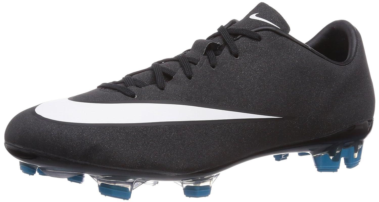 Amazon.com | Nike Men's Mercurial Veloce II Cr Fg Black/White/Neo Turq/Spc  Blue Soccer Cleat 9.5 Men US | Soccer