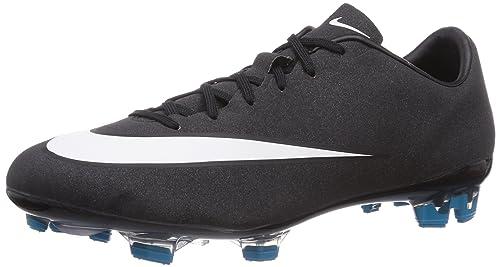 Nike Mercurial Veloce II Cristiano Ronaldo Firm Ground, Botas de fútbol Unisex Adulto, Schwarz (Black/White-Neo turq-spc Blue), 40 EU: Amazon.es: Zapatos y ...