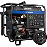 Westinghouse WGen12000 Ultra Duty Portable Generator 12000 Rated & 15000 Peak Watts Gas Powered, Electric Start…