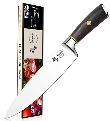 amazon com chef knife 8 inch kitchen knife quality professional