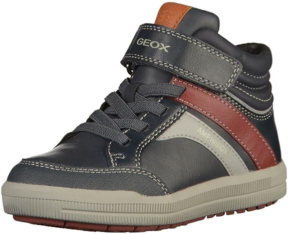 Geox J745SA Jungen Sneakers Navy, EU 33