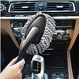 Ordenado Multi-Functional Microfiber Car Duster Interior & Exterior Dash Dust Cleaner, Cleaning Detail Brush Dusting Washing