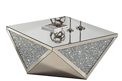 Best Quality Furniture CT50 Glass Coffee Table
