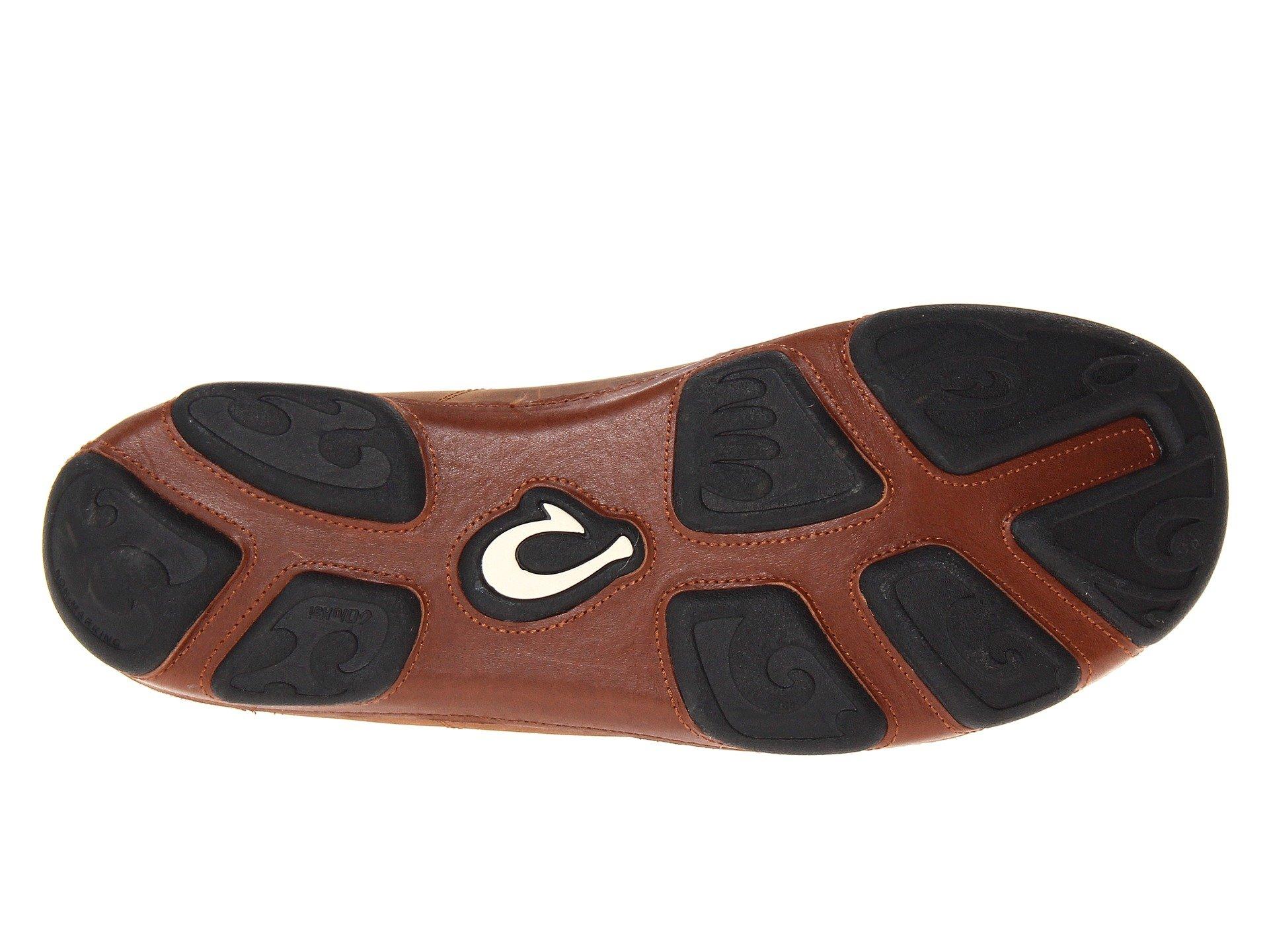 OluKai 'Ohana Lace-Up Nubuck Shoe - Men's Henna/Toffee 13