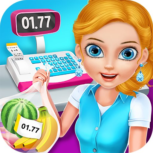 Supermarket Shopping Cashier - Free game to own your shop, stock up items, make money and serve happy customers!