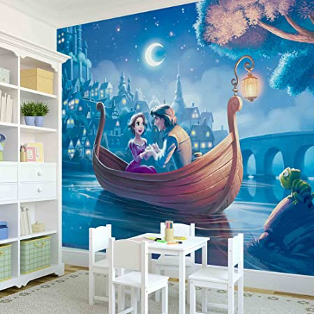 Disney Tangled WALL MURAL PHOTO WALLPAPER Amazoncouk Kitchen Home