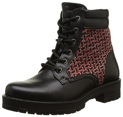 Womens Melissa Ankle Boots, Schwarz (Black-Combi 00068) Marc