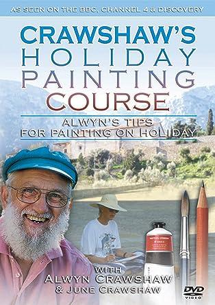 alwyn crawshaw paints on holiday