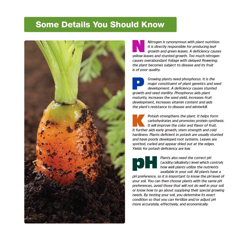 Amazon.com : Luster Leaf 1601 Rapitest Soil Tester, Test Kit for pH, N, P  and K : Soil Testers : Garden & Outdoor