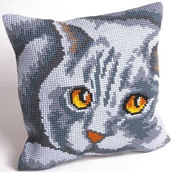 Amazon.com: Collection D 'art gato persa Cojín Kit de ...