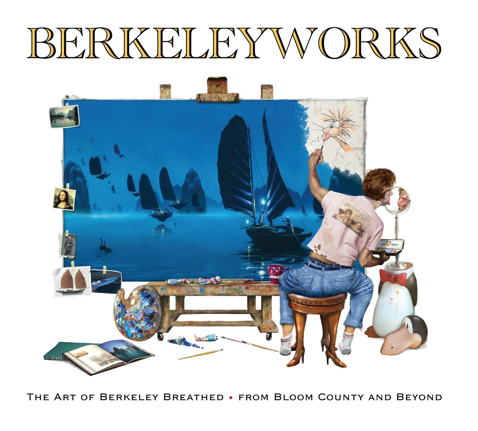 Berkeleyworks: The Art of Berkeley Breathed: From Bloom County and Beyond by IDW Publishing