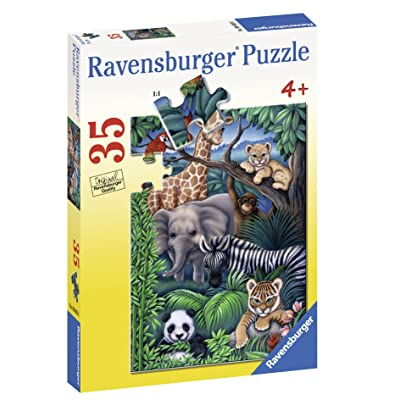 Ravensburger Animal Kingdom - 35 Piece Jigsaw Puzzle for Kids – Every Piece is Unique, Pieces Fit Together Perfectly: Toys & Games