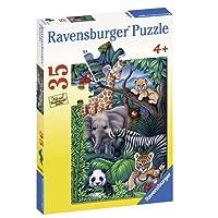 Ravensburger Animal Kingdom Puzzle 35pc,Children's Puzzles