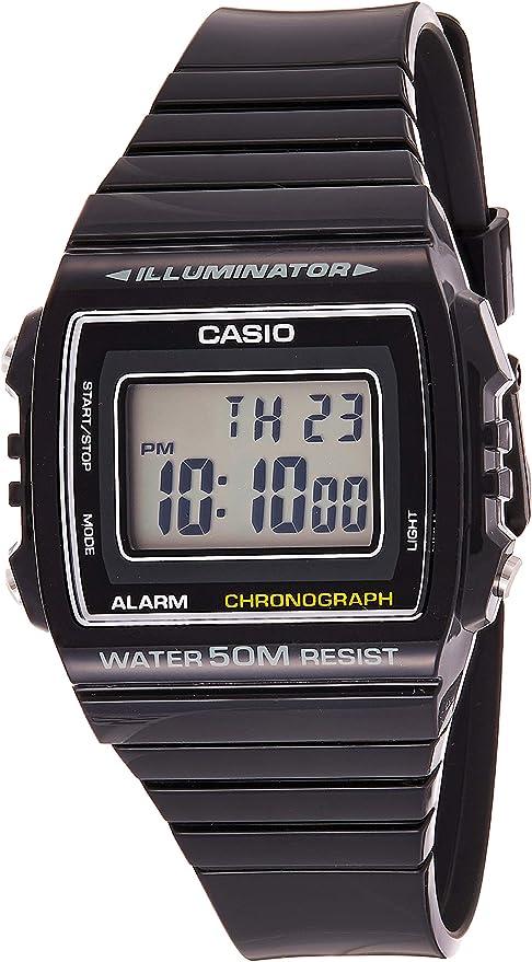 CASIO (カシオ) 腕時計 W-215H-1A メンズ 海外モデル [逆輸入品]