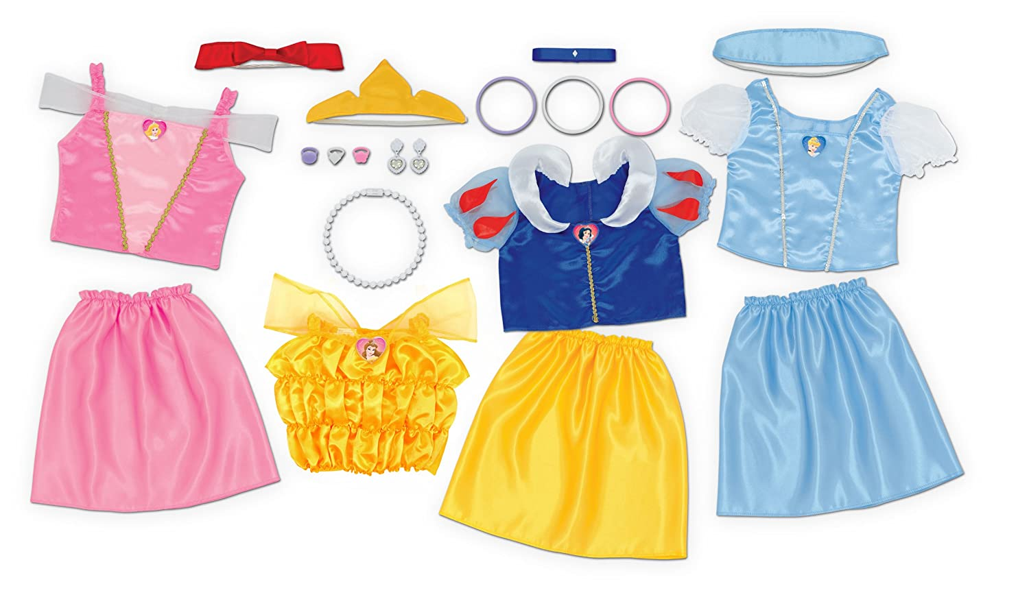 Disney Princess Dress Up Outfits