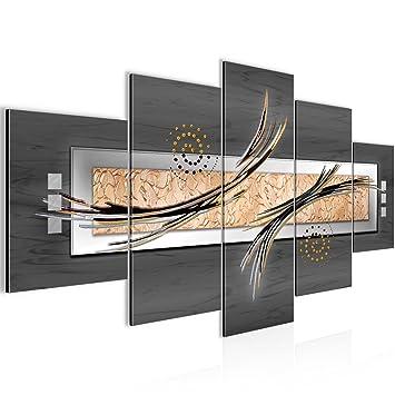 Bilder Abstrakt Wandbild 200 x 100 cm Vlies - Leinwand Bild XXL ...
