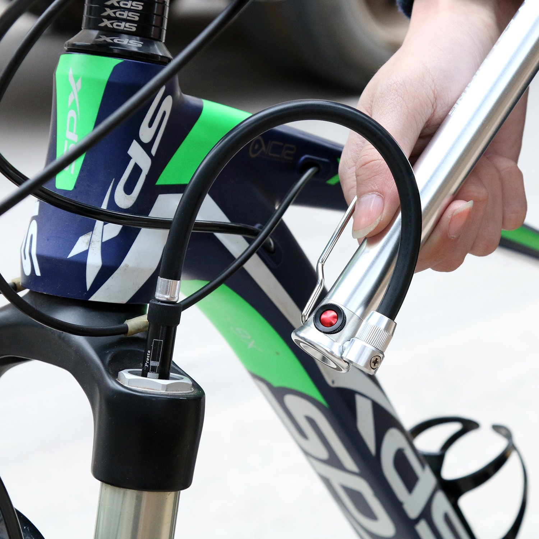 Mini Bike Floor Pumpe tragbar 160 PSI, Fahrrad Reifen Pumpe ...