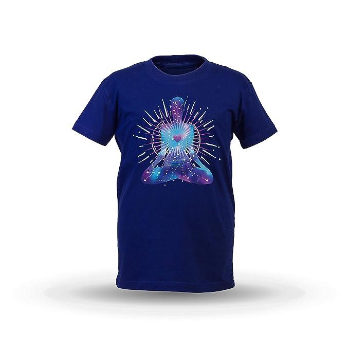 KrisTalas niños Camiseta de Las niñas Yoga Clothing ...