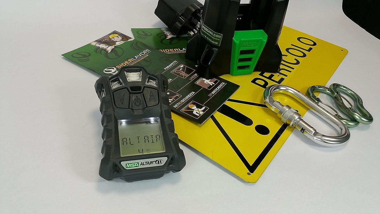 Detector Altair 4 x Multi-gas para O2, H2S, CO y gas combustible, uno de los detectores Multigas más compactos sul Feria fácil de usar, affidabile, ...