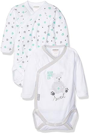 Absorba Baby Boys  2 CC ml Bear and CO Bodysuit 7b253504c57