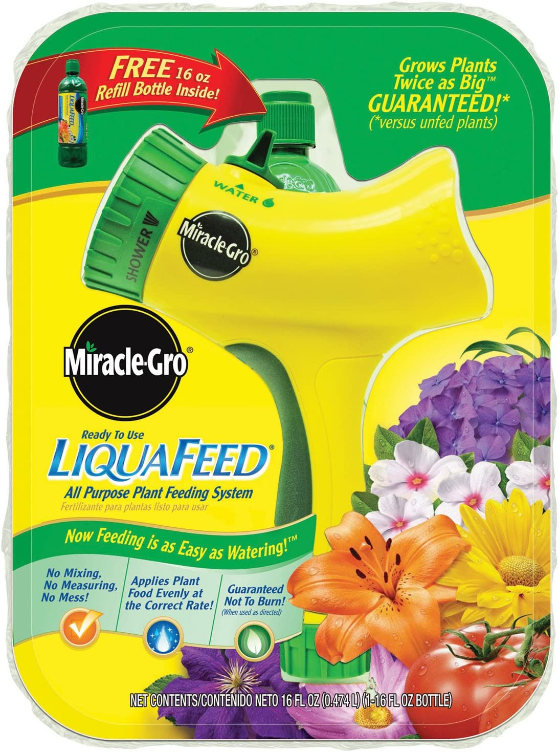 Miracle-Gro 101411 LiquaFeed All Purpose Plant Feeding System