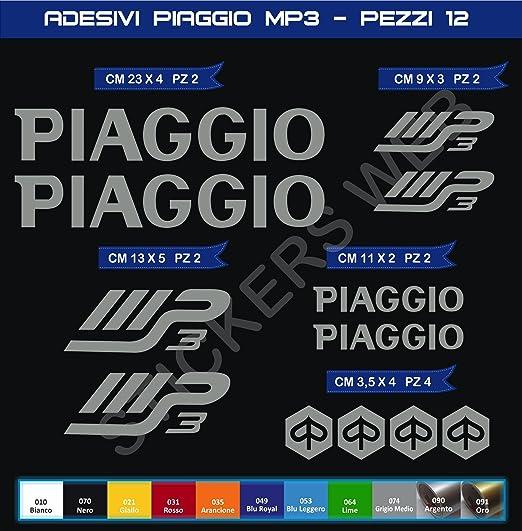 0563 Adh/ésifs Stickers pegatina Piaggio MP3 Moto Motorcycle cod