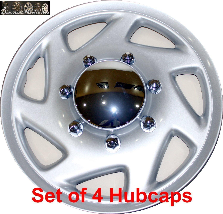 Amazon com 16 set of 4 ford truck van hub caps design are universal wheel covers fit most 16 rims e150 e250 e350 e450 hubcaps automotive