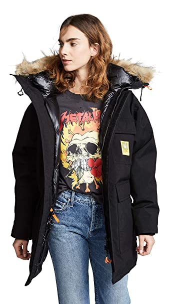 9fa68ef8b Amazon.com: BRUMAL Women's Down Parka, Black, Small: Clothing