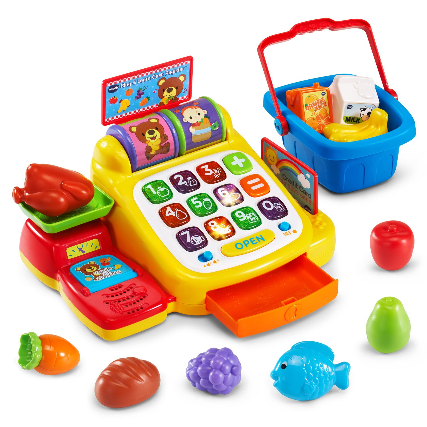 VTech Ring and Learn Cash Register (Frustration Free Packaging) by VTech