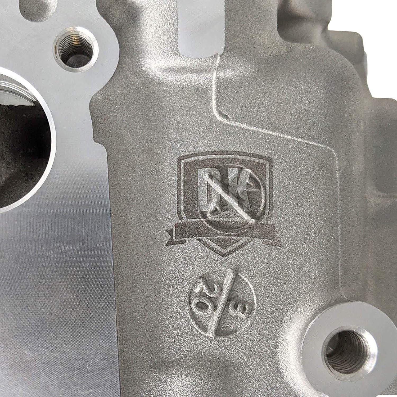 Fits 2007.5-2010 Duramax 6.6L LMM 2 x Complete LMM Cylinder Heads With Valve Train