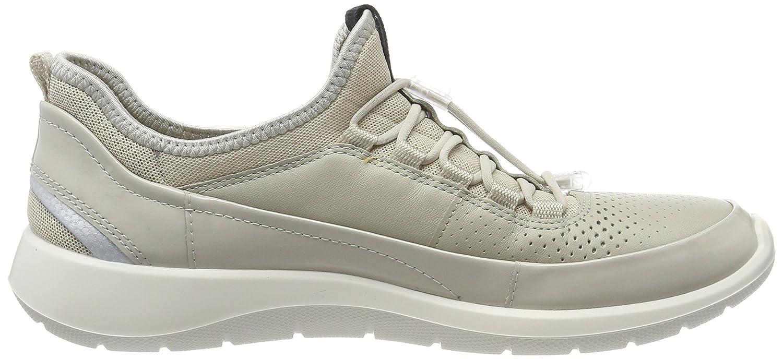 Ecco Damen Soft 5 Sneaker Sneaker Sneaker Beige (Gravel/Oyster/Gravel) 8c3e01