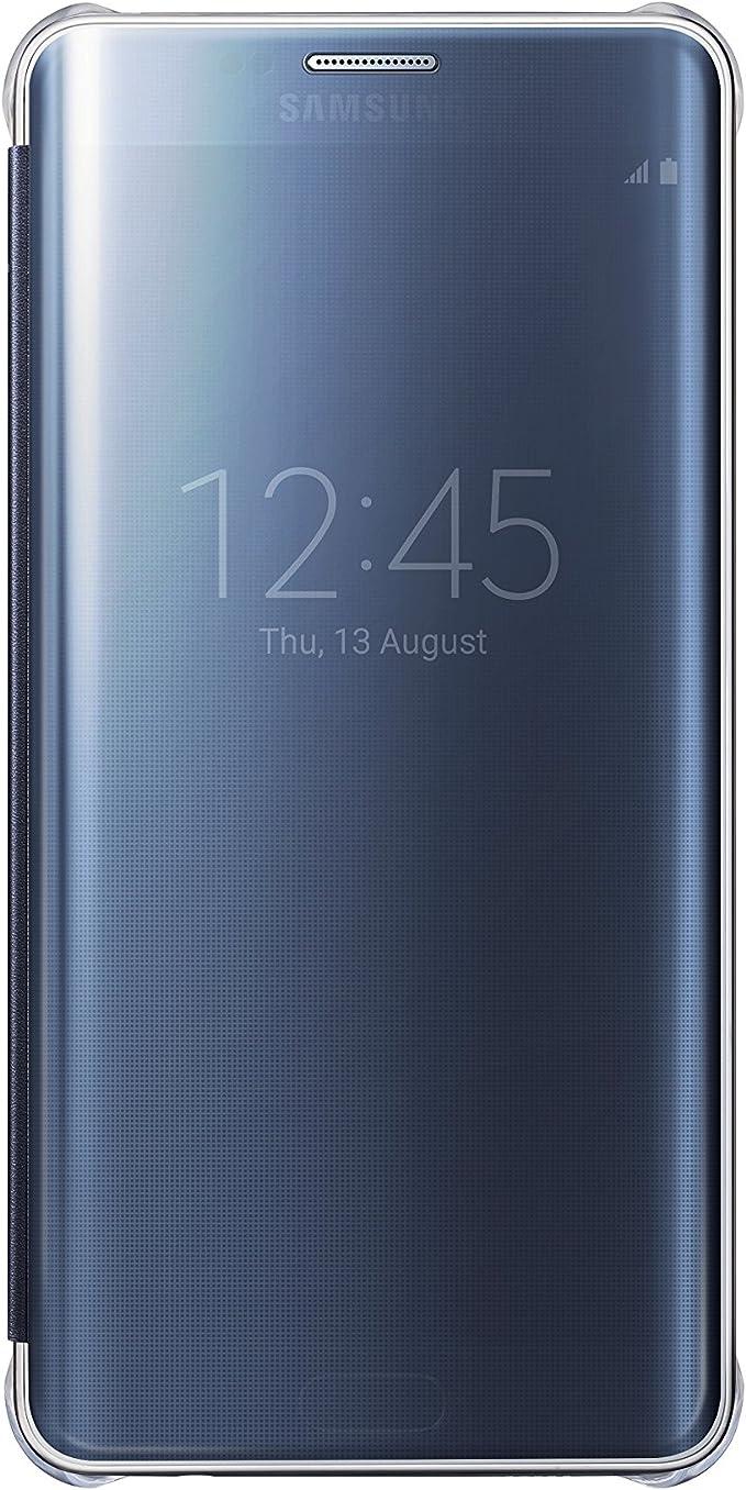 Samsung Galaxy S6 Edge Plus Case S, View Clear Flip Cover, Black ...