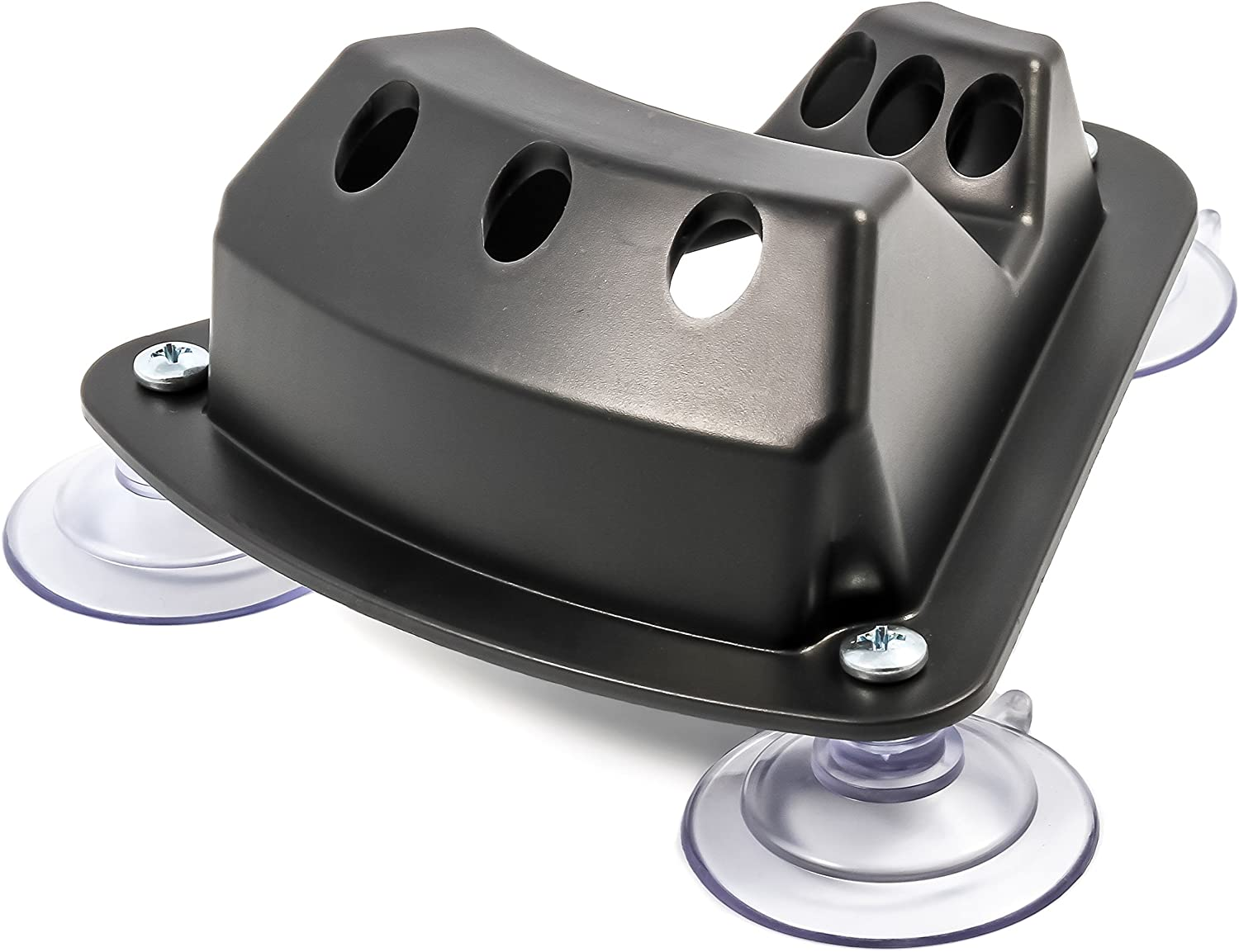 Camco 45502 Triple Flag Holder Suction Cup