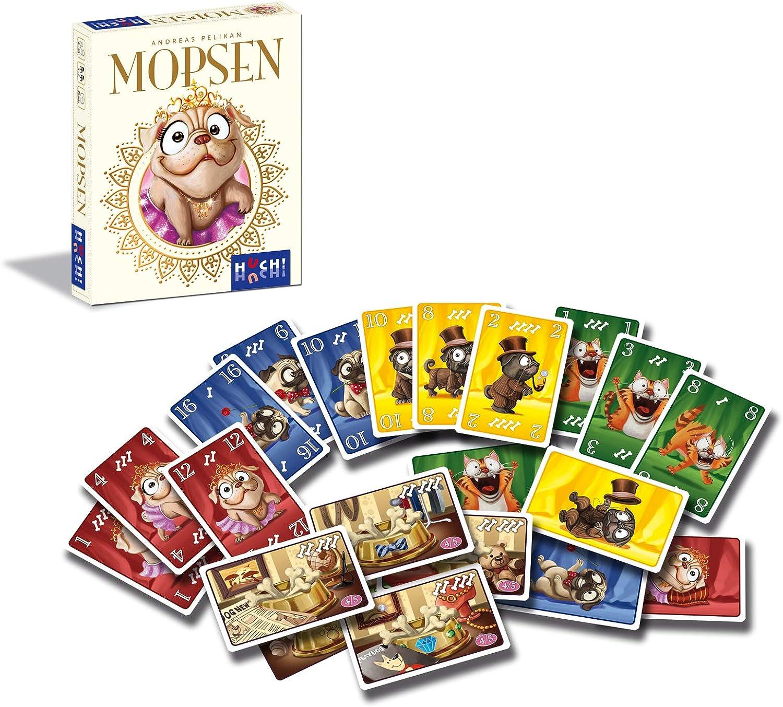 HUCH! 880659 - Juego de Cartas, Multicolor: Amazon.es: Juguetes y juegos