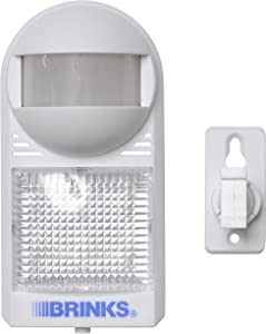 Brinks 47-1030 Portable Motion Activated Light and Alarm