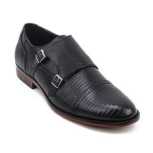 Xray Mens Vermin Monk Strap Shoe