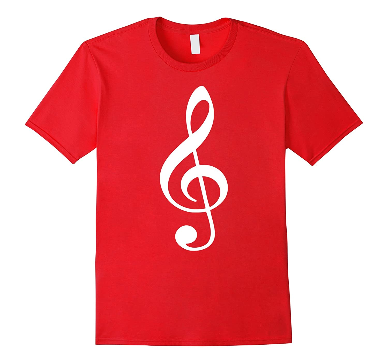 Music note clef T-Shirt-CL