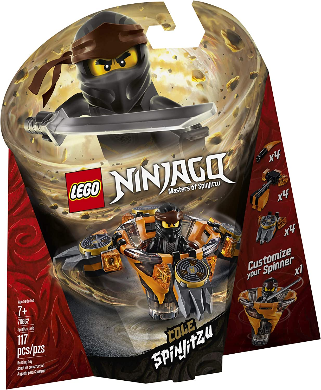 LEGO NINJAGO Spinjitzu Cole 70662 Building Kit (117 Pieces)